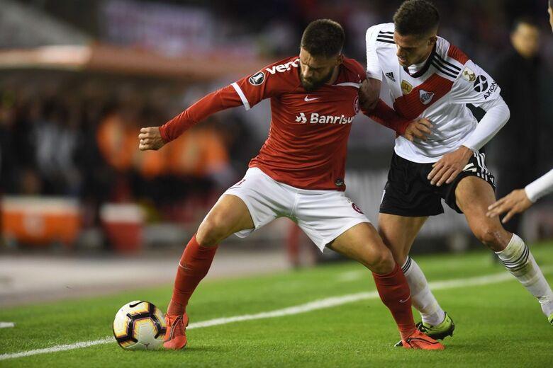 Sobis marcou os dois gols do Internacional - Crédito: Ricardo Duarte/Internacional