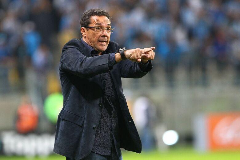 Luxemburgo é o novo técnico do Vasco - Crédito: Lucas Uebel/Grêmio FPBA