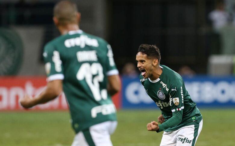 Em casa, o Palmeiras venceu o San Lorenzo por 1 a 0 e terminou a fase de grupos da Libertadores com o primeiro lugar geral - Crédito: Cesar Greco/Palmeiras