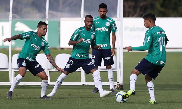 Atual campeão tenta manter a ponta e a invencibilidade - Crédito: César Greco / S.E. Palmeiras
