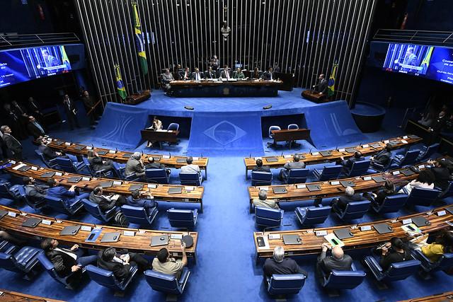 Plenário do Senado Federal durante sessão especial destinada a comemorar o trigésimo aniversário da criação de Palmas, capital do Estado do Tocantins - Crédito: Edilson Rodrigues/Agência Senado