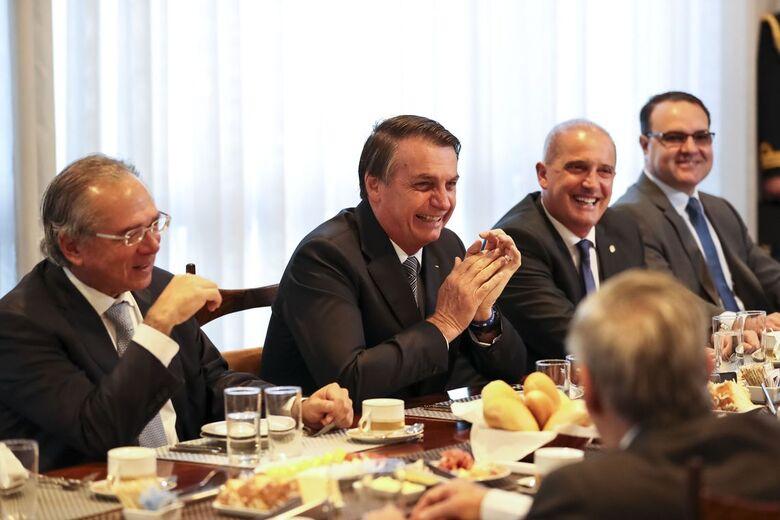 Ministro da Economia diz que povo quer mudança - Crédito: Marcos Corrêa/PR