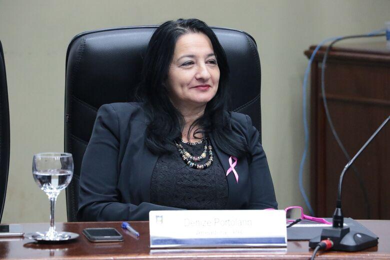 Denise foi a primeira vereadora afastada julgada; restam três - Crédito: Arquivo/Thiago Morais