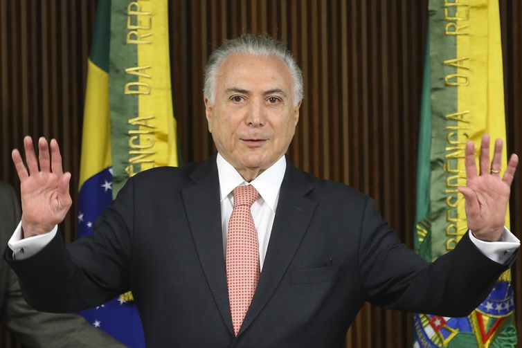 O ex-presidente Michel Temer é acusado de crimes de corrupção relacionados à construção da Usina Nuclear Angra 3 - Crédito: Antonio Cruz/ Agência Brasil