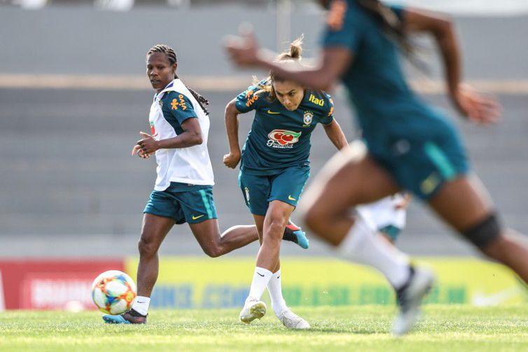 A preparação da seleção brasileira em Portugal vai até o dia 5 de junho - Crédito: Divulgação/CBF