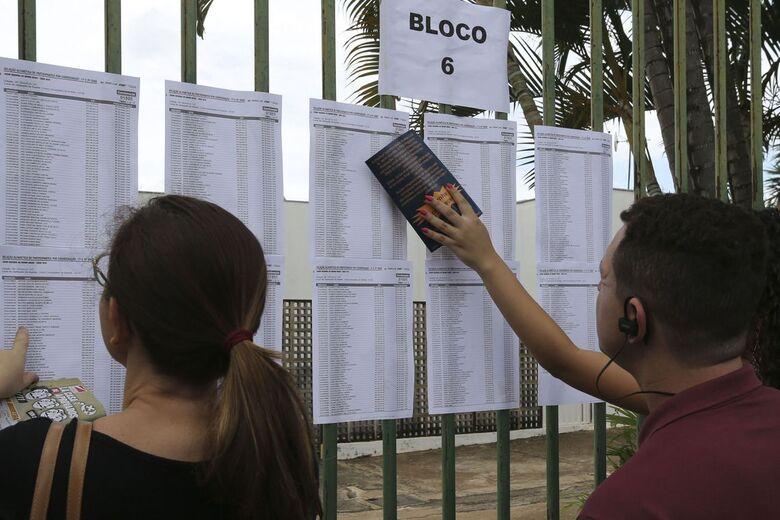 As provas serão realizadas nos dias 3 e 10 de novembro - Crédito: Valter Campanato/Agência Brasil