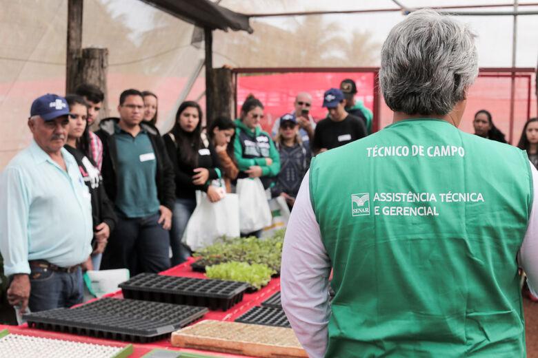 Oficinas do Fazendinha levam capacitação ao pequeno produtor nas áreas de hortifruti, piscicultura e produção de leite - Crédito: Divulgação