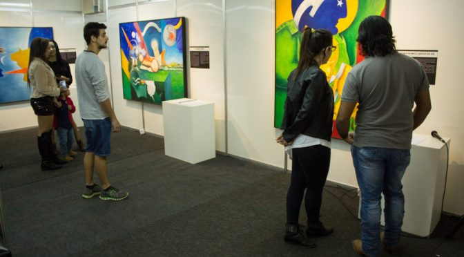 Fundação de Cultura de MS se responsabiliza pelo espaço físico para realização da exposição - Crédito: Daniel Reino/FCMS