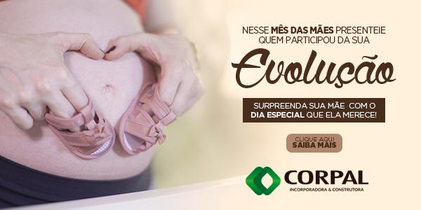 Promoção especial mês das mães Corpal Incorporadora - Crédito: divulgação