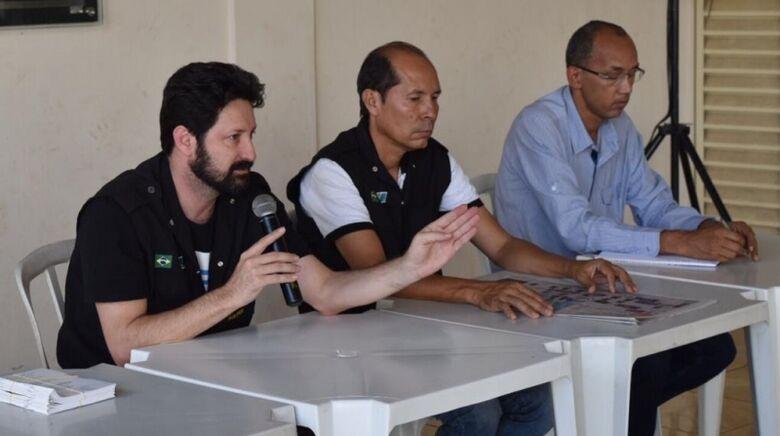 Sinsap convoca os os agentes penitenciários  para um protesto na próxima sexta-feira - Crédito: Ascom Sinsap