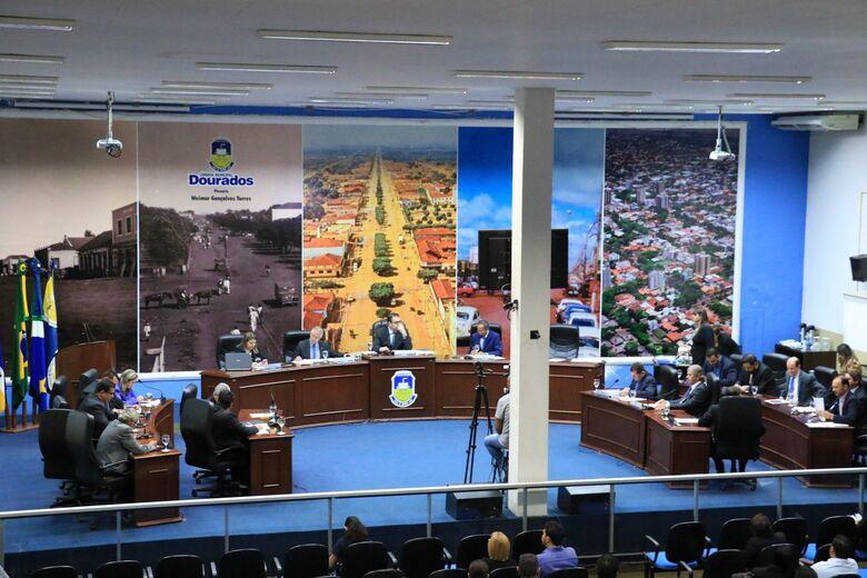 Foram aprovados sete projetos durante sessão ordinária - Crédito: Thiago Morais/CMD