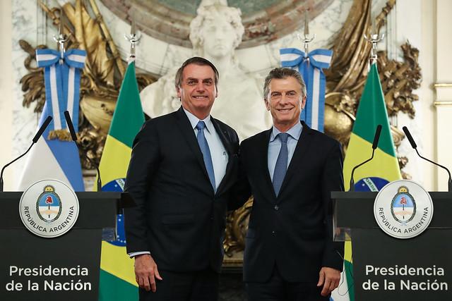 Presidente brasileiro se encontrou com o presidente argentino nesta quinta-feira - Crédito: Marcos Corrêa/PR