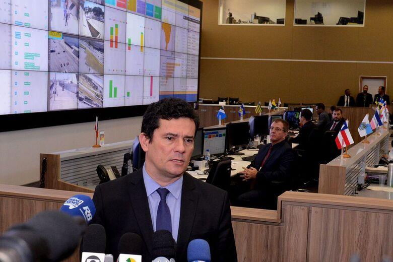 O ministro da Justiça e Segurança Pública, Sergio Moro - Crédito: Isaac Amorim/AG.MJ