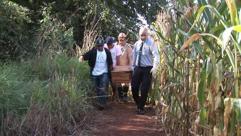 Corpo foi encontrado na tarde de quarta-feira - Crédito: Marciel Arruda/TV Rit