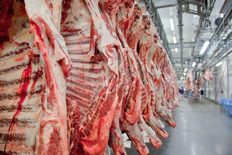 Suspensão temporária de certificados sanitários para a exportação de carne para a China foi confirmada ontem (3) - Crédito: Divulgação/Abiec