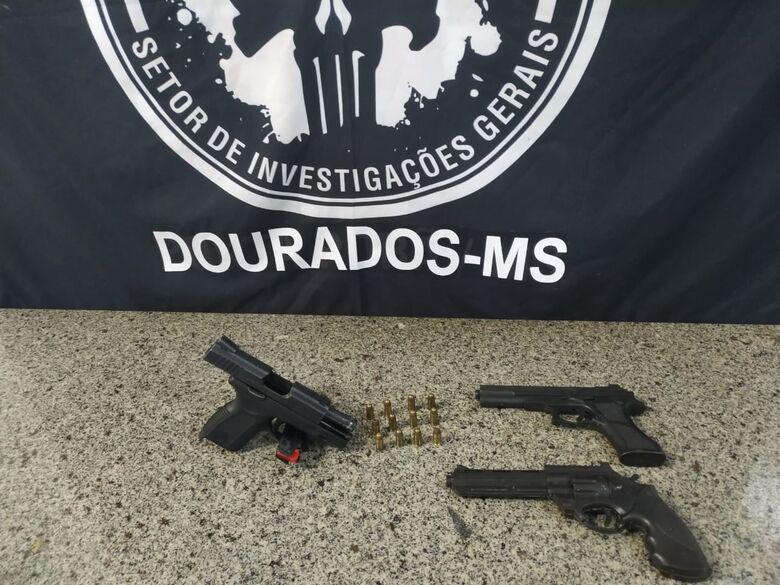 SIG prende autor de roubo de arma de fogo em loja de celulares em Dourados -