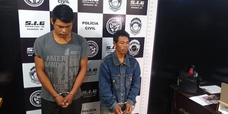 Dupla foi presa no sábado e apresentada pela polícia nesta segunda - Crédito: Cido Costa