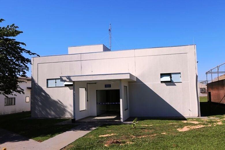 O novo prédio foi construído na Embrapa, próximo às instalações do moderno Laboratório de Piscicultura da Unidade - Crédito: Divulgação