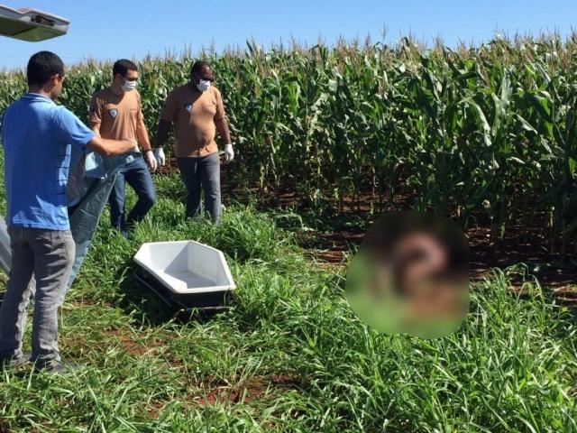 Corpo foi achado neste domingo - Crédito: Leo Veras/Porã News
