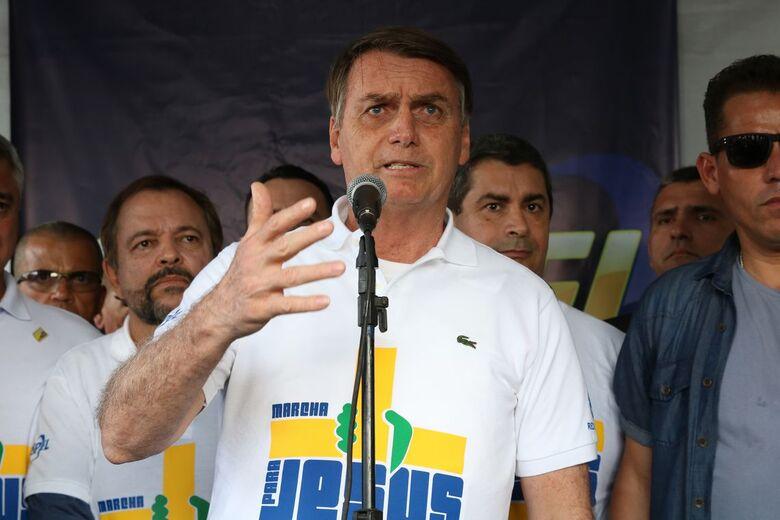 Presidente participou da Marcha para Jesus em São Paulo - Crédito: Rovena Rosa/Agência Brasil