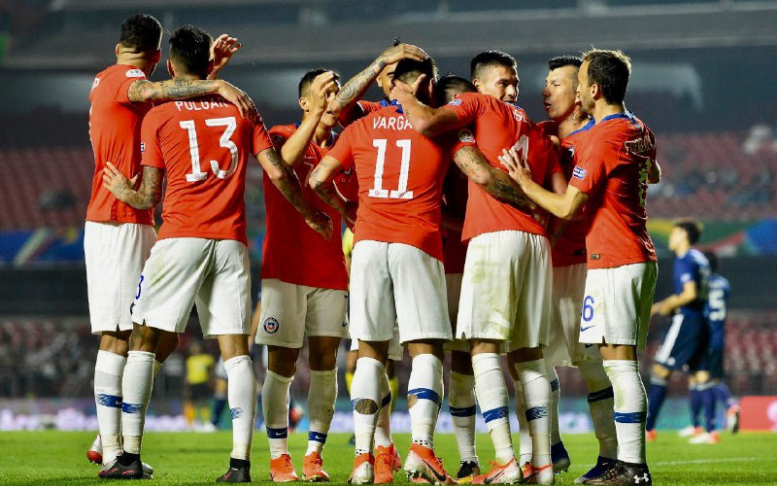 Atual bicampeão começou bem a Copa América - Crédito: Divulgação/Conmebol