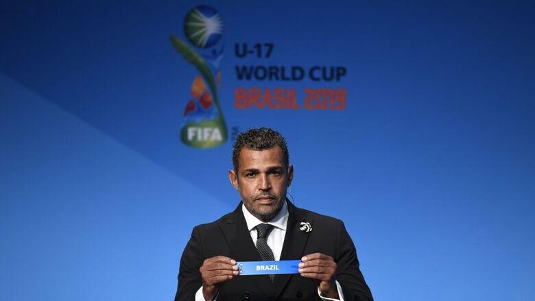 Em sorteio realizado em Zurique, na Suíça, ficou definido que o Brasil enfrentará o Canadá, Nova Zelândia e Angola na primeira etapa da Copa do Mundo Sub-17 - Crédito: Divulgação/Fifa