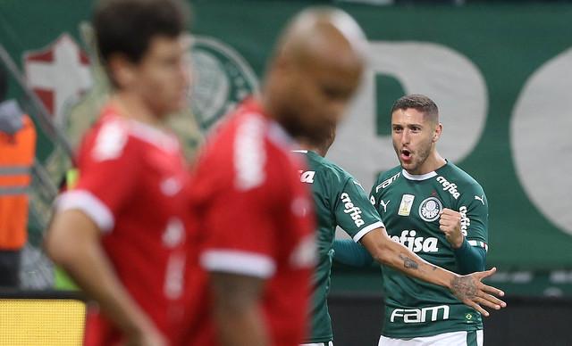 Zé Rafael marcou o único gol do jogo - Crédito: Divulgação/Palmeiras