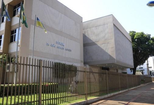 Audiência de custódia aconteceu no Fórum de Dourados nesta quarta-feira - Crédito: Divulgação