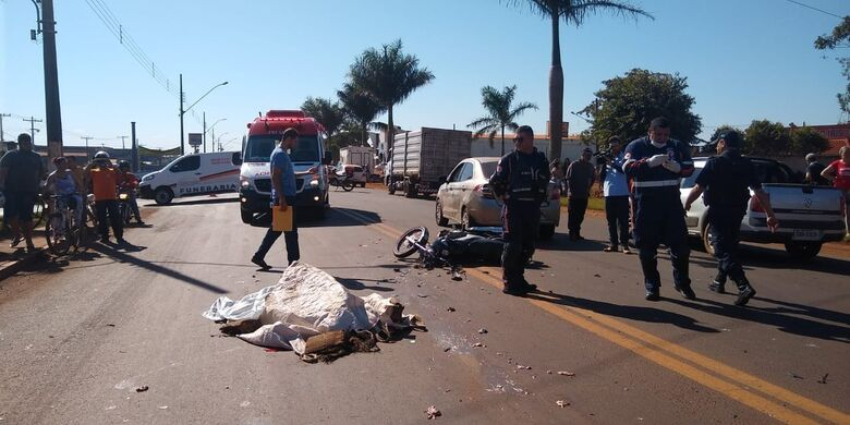 Homem morreu na tarde desta sexta-feira em Dourados - Crédito: Cido Costa/Dourados Agora