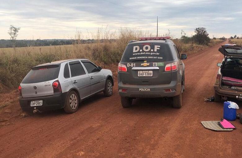 Apreensão aconteceu nesta segunda-feira - Crédito: Divulgação/DOF