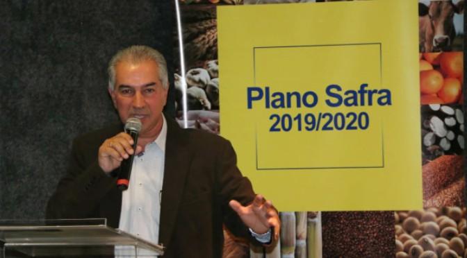 Governador falou também da importância do investimento em logística para escoar a produção - Crédito: Edemir Rodrigues