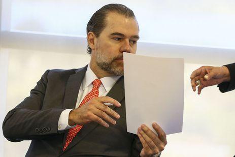 O presidente do Supremo Tribunal Federal, Dias Toffoli, suspendeu todas investigações com dados do Coaf usados sem autorização judicial - Crédito: Arquivo/Agência Brasil