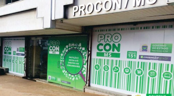 Procon divulga balanço de ações e ranking com empresas com mais reclamações em MS - Crédito: Divulgação/Procon