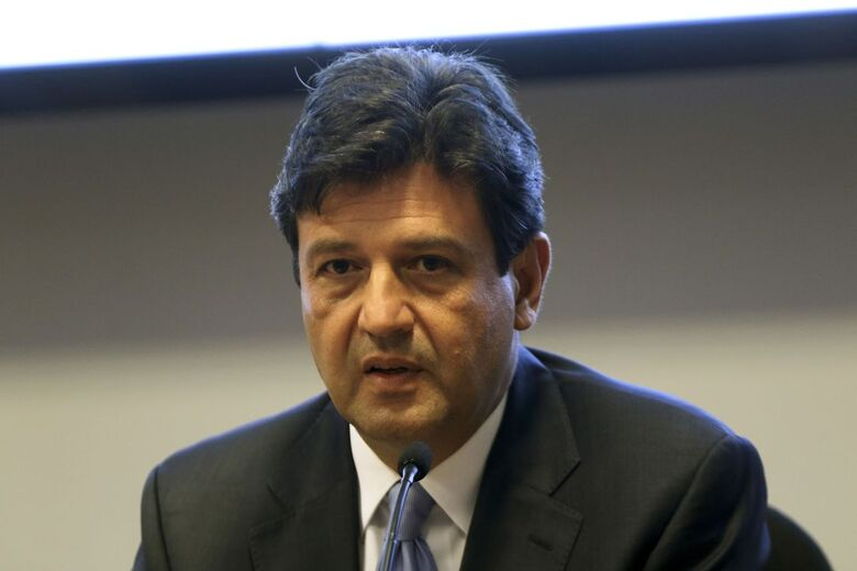 Ministro Mandetta organiza o programa - Crédito: Wilson Dias/Agência Brasil