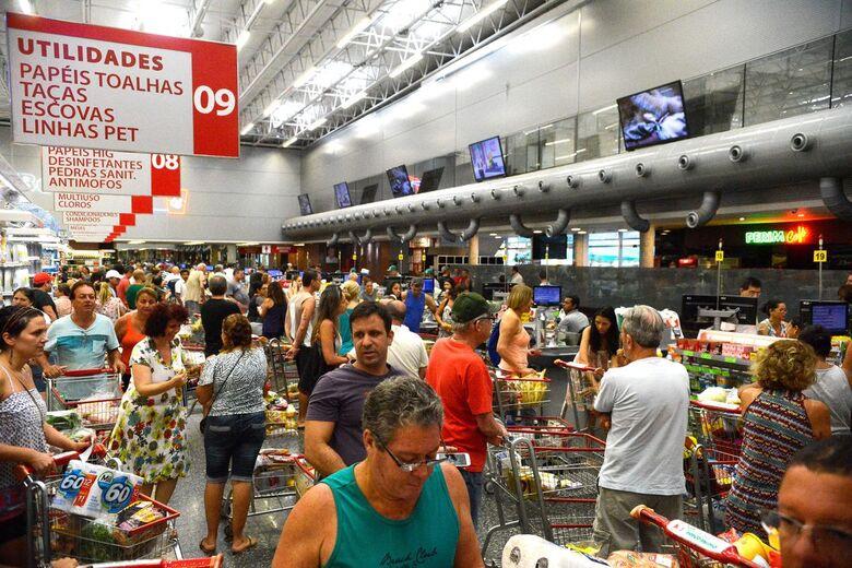 Essa é a taxa mais baixa para o mês desde 2013 - Crédito: Tânia Rêgo/Agência Brasil