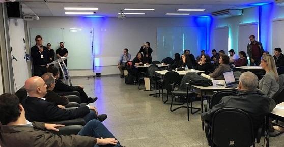 Programa Rádio Inteligente é apresentado para profissionais do setor na sede do Sebrae em Campo Grande - Crédito: Natália Moraes - Sebrae MS