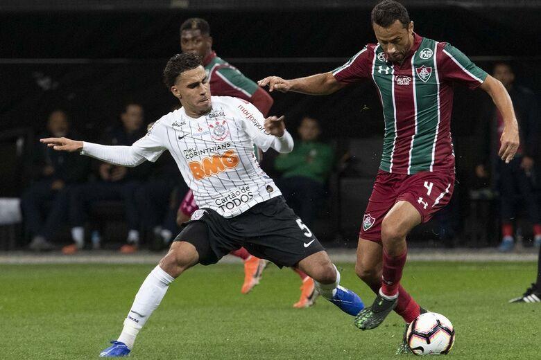 confronto decisivo acontece na quinta-feira (29), às 20h30, no Maracanã - Crédito: Daniel Augusto Jr/Agência Corinthians