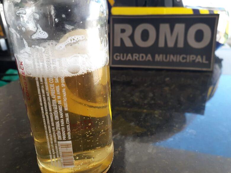 Bebida estava com a menor - Crédito: Divulgação/GMD