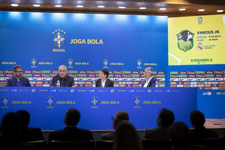 Brasil enfrentará o Peru no dia 6, em Miami, e a Colômbia no dia 10, em Los Angeles - Crédito: Lucas Figueiredo/CBF