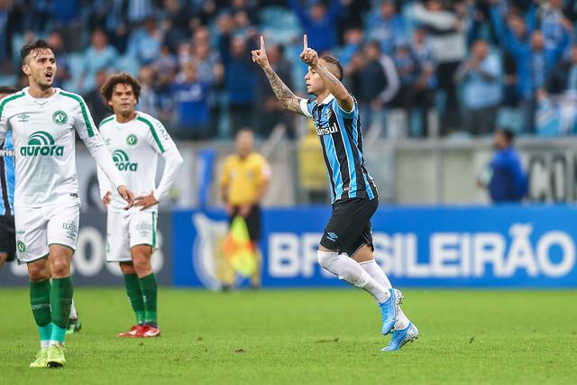 Everton marcou um dos gols do jogo - Crédito: LUCAS UEBEL/GREMIO FBPA