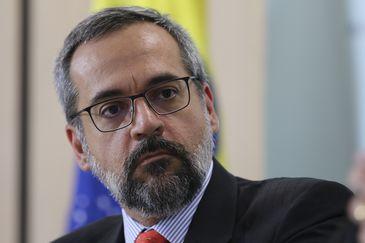 O ministro da Educação, Abraham Weintraub. - Crédito: Fabio Rodrigues Pozzebom/Agência Brasil