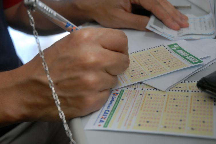 O sorteia da Mega-Sena será no Espaço Loterias Caixa, na cidade de São Paulo - Crédito: Agência Brasil