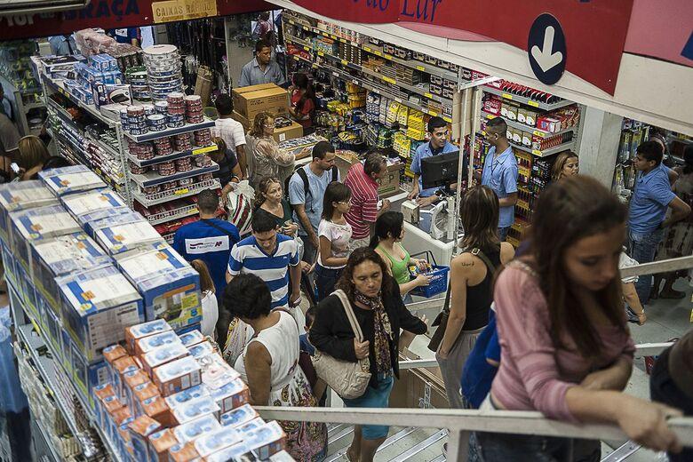 Índice de Confiança do Comércio cresce 3,2 pontos em agosto - Crédito: Marcelo Camargo/Agência Brasil/EBC