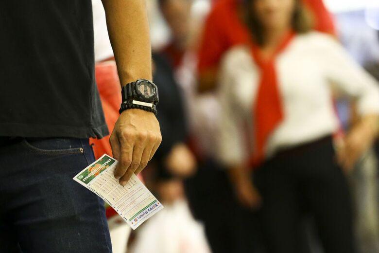 Os números serão sorteados às 20h, em São Paulo - Crédito: Marcelo Camargo/Agência Brasil