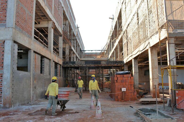 Obras do Hospital da Mulher e da Criança podem ser prejudicadas com cortes - Crédito: Hédio Fazan