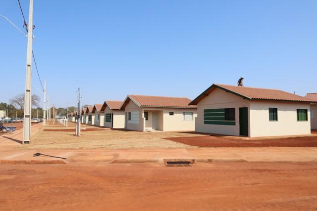 Das 200 unidades do Residencial Guassu, 25 remanescentes serão sorteadas nesta sexta-feira - Crédito: A.Frota