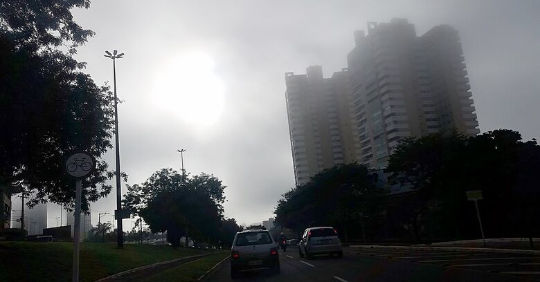Presença da massa de ar seco fará com que umidade chegue a 20% no período da tarde - Crédito: Edemir Rodrigues