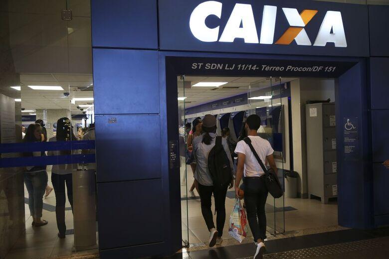 Caixa registra 12 milhões de transações após liberação do FGTS - Crédito: José Cruz/Agência Brasil