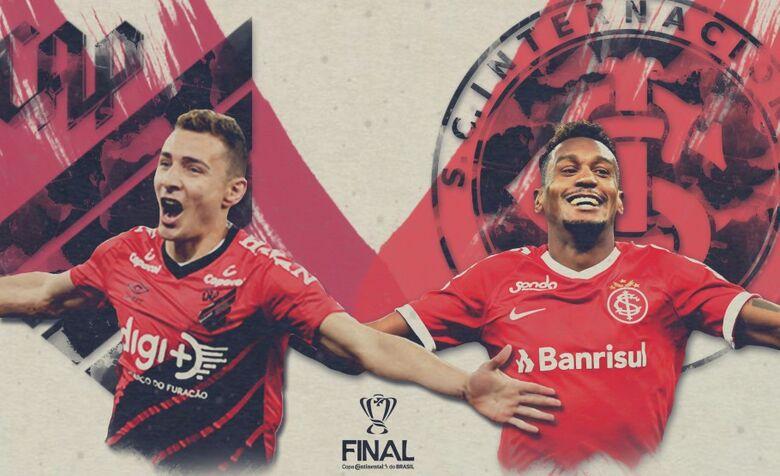 Na Arena da Baixada, rubro-negros e colorados fazem o primeiro jogo da decisão da Copa do Brasil - Crédito: CBF