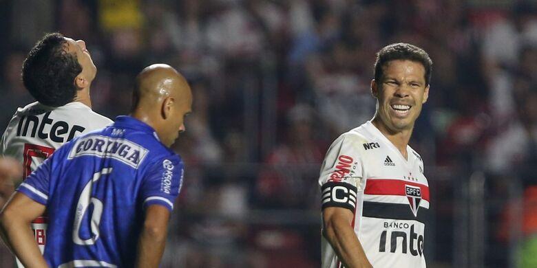 São Paulo fica no empate com o CSA no Morumbi - Crédito: Marcello Zambrana/Agif